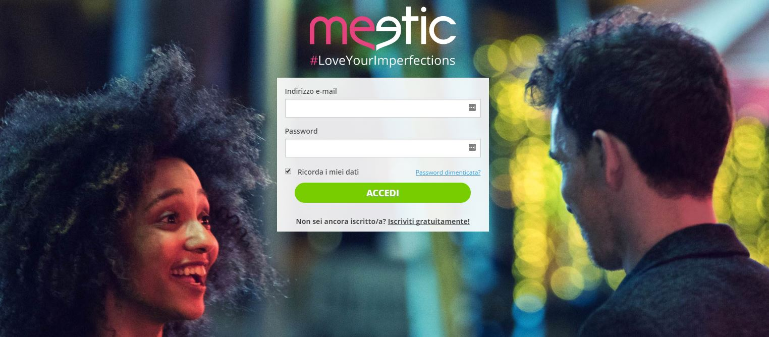 Login meetic cancellazione account